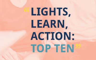 Lights, Learn, Action: Top 10